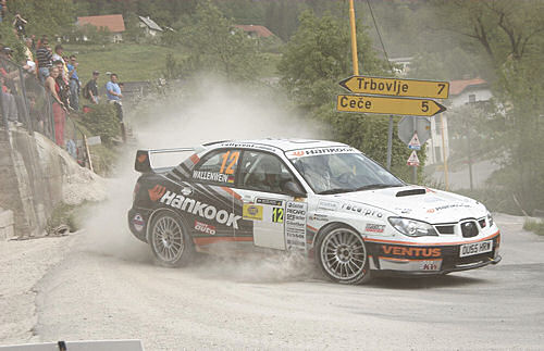 Wallenwein/Neidhöfer Rallye Saturnus/Slowenien