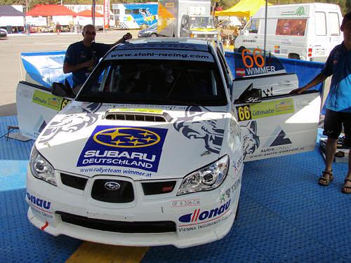 Rallye Akropolis 2008  Wimmer/Kölbach