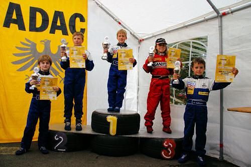 Siegerehrung K1 - 20. AMC Arzbach Kart-Slalom
