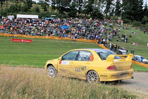 Schleimer/Fuchs  -  Eifel Rallye 2008