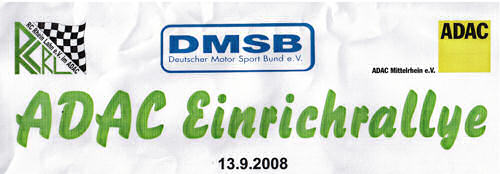 Einrich Rallye 13.September 2008