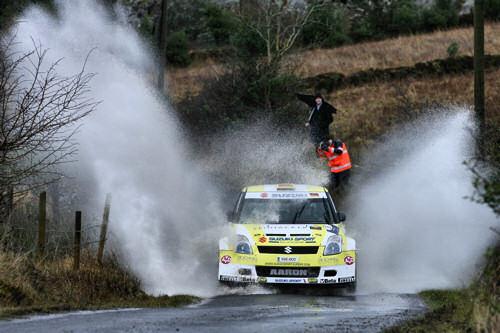 Burkart/Kölbach - Sieger JRC Rallye Irland 2009