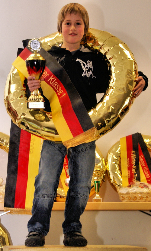 Silas Hofmann - Sieger der K1