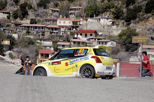 Burkart/Kölbach - Rallye Zypern 2009