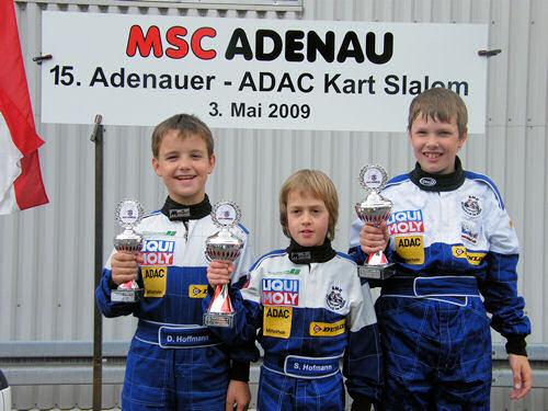 Siegerehrung K2 - Adenau